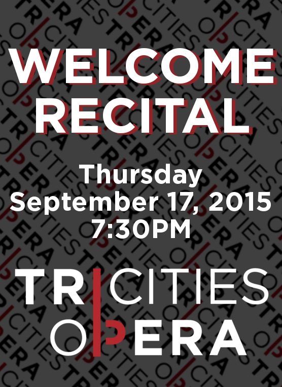 Welcome Recital Artwork