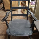 black-wood-arm-chair