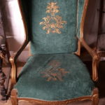 green-and-gold-arm-chair