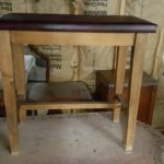 padded-small-wooden-bench